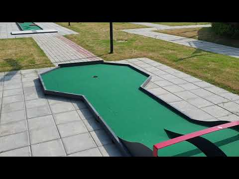 Full Course Walkthrough Felfgolf Lane 1-18 (Minigolf World Championships 2019)