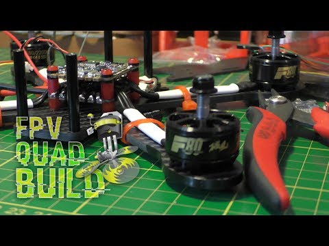 "STRICTLY RACING DRONES 5"" - BUILD TIME! ♠ [ FPV DRONE BUILD ] (re-upload)"