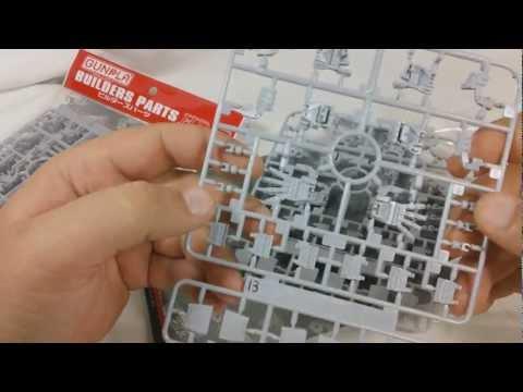 Gunpla Builders Parts - EFSF Hands 1/144 & 1/100 Review