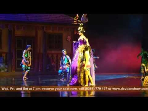 DEVDAN show is among the most amazing Bali attractions and activities at Bali Nusa Dua Theatre