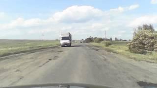 Дорога на Львів з вікна ГАЗ-31105
