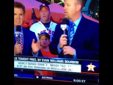 Astros Fan Video Photo Bombs MLB Network Segment - YouTube