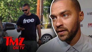 Jesse Williams Wears A Suspicious T-Shirt | TMZ TV