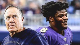 NFL WEEK 9 PICKS REVIEW   LAMAR JACKSON EXPOSES BILL BELICHICK & JETS HIT ROCK BOTTOM...AGAIN