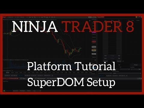 NinjaTrader 8 Beginner's Tutorial for Traders – SuperDOM
