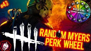 Random Myers Perk Wheel #43 - PERK ROULETTE! - Dead By Daylight