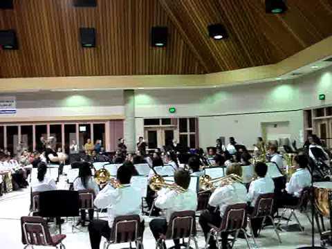 Jessie Villarreal's concert at James Workman Middle School Dec 2, 2010