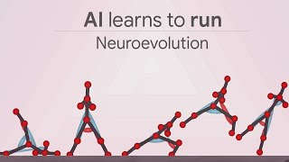 AI neuroevolution ve derin öğrenme ile yürümek ve koşmak öğrenme