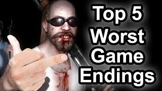 Top 5 - Worst game endings of recent years - Volume 2 (Spoiler alert)