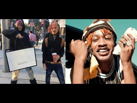Lil Tracy disses Lil Pump after Pump sends condolences to Lil Peep. Lil Pump goes off.