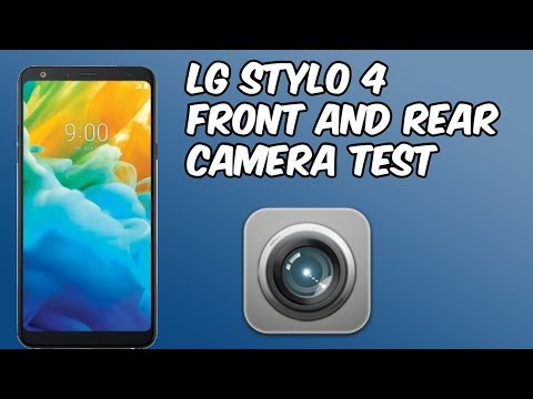 LG Stylo 4 Front and Back Camera Test (HD)
