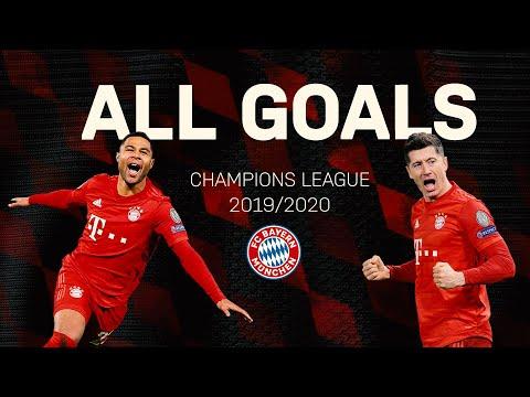 All FC Bayern Champions League Goals 2019/20 so far