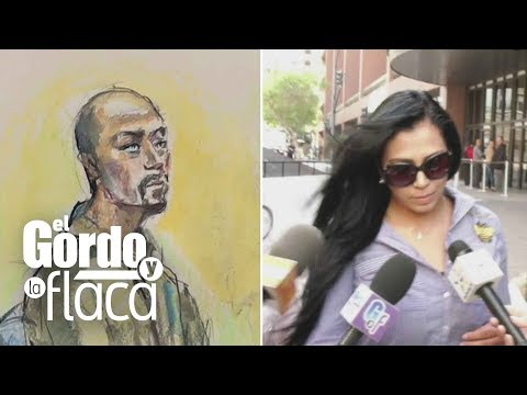 La novia de Esteban Loaiza acudió a la audiencia y así reaccionó ante las cámaras | GYF