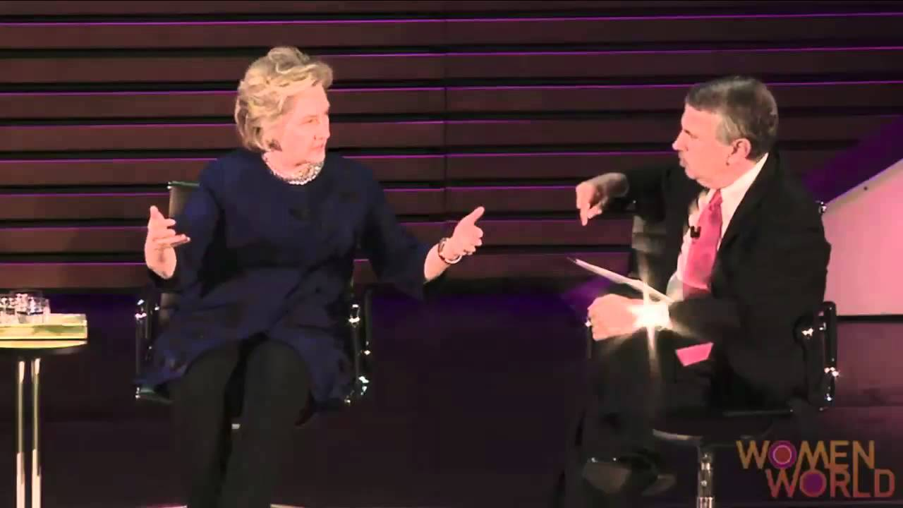 hillary struggles to list accomplishments at state