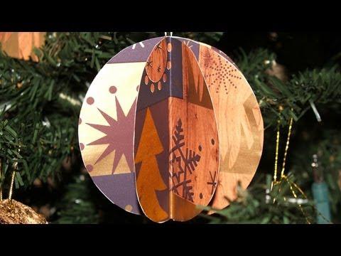 Adornos para el rbol de navidad 5 esferas 3d diy - Esferas de navidad ...
