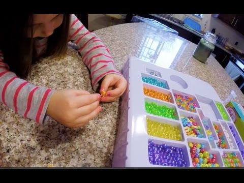JEWELRY MAKING FOR KIDS | DAY 1030 | ThePlusSideOfThings