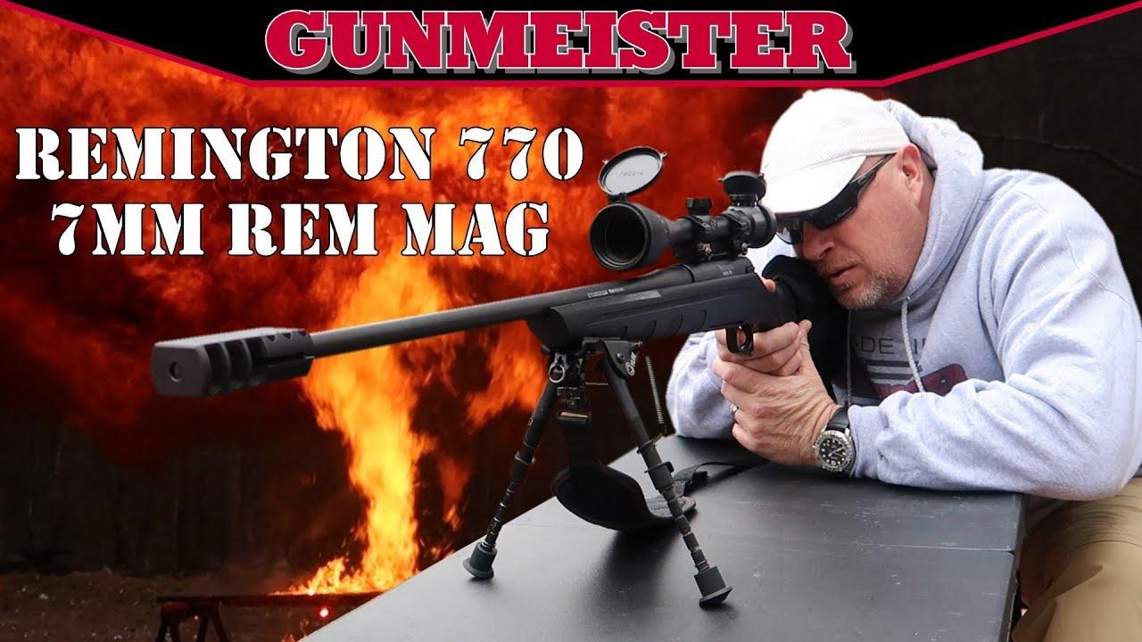 Remington 770 Review   7MM Rem Mag