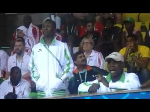 Nigeria Instructors at d Commonwealth game