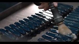 The production of the Nespresso Victorinox Knife AU I NZ
