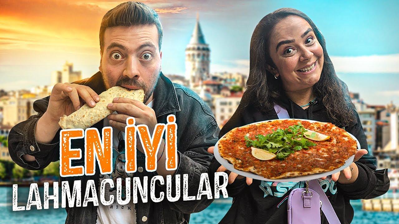 İSTANBUL'UN EN UCUZ VE LEZZETLİ LAHMACUNCULARI !