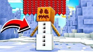 WORLDS STRONGEST MINECRAFT SNOW GOLEM PET!