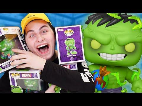 Hulk Funko Pop Chase Roulette!