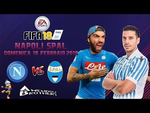 FIFA 18 Pronostico Napoli - Spal 18/02/2018
