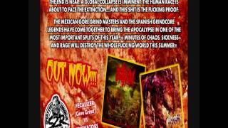 "FECALIZER / MIXOMATOSIS - ""Split"" (Teaser) CD"
