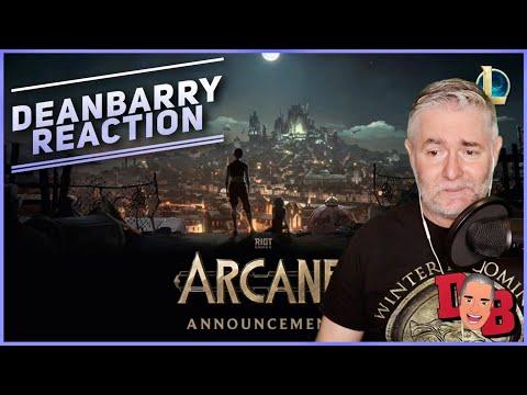 Arcane Animated Series Announcement Trailer - League Of Legends
