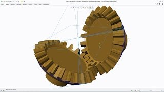 Creo Tutorial - How to Draw an Involute Bevel Gear Part 1