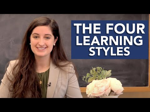 The Four Learning Styles  |  5 Challenges Freshmen Face Series w/ Maribeth Kelly