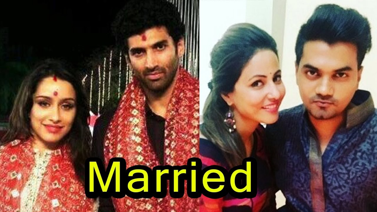 9 Bollywood And Tv Couples Who Gets Married This Year Shraddha