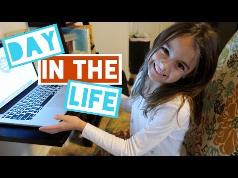 HOMESCHOOL KIDS DAILY ROUTINE! KIDS TAKEOVER THE VLOG!