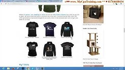 Web Design format for T Shirt Marketing # Contact: 01764608434