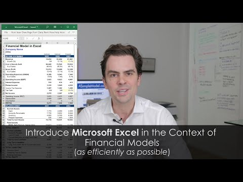 Microsoft Excel for Financial Models