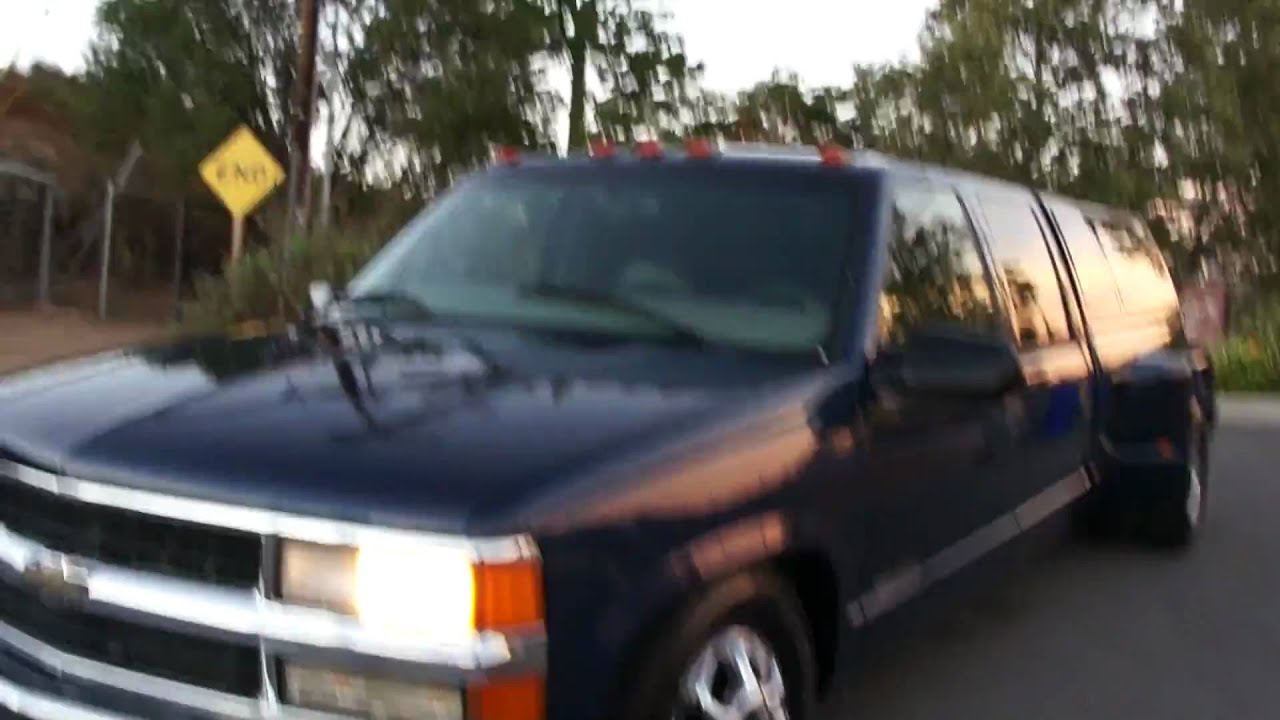 98 Chevy GMC 1 Ton 3500 454 Dually Lowered Alcoa Truck Air ...