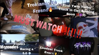 In Fresno With The Mamalonas!! +DICE GAME,CAR RACE VS 5 0, TWIN TURBO TRUCK IN PROCESS  MUST WATCH!! YouTube Videos