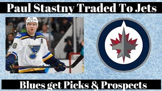 NHL Trade Talk - Blues Trade Stastny to Jets