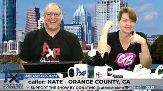 Mary, Asexual Reproduction & Jesus Female | Nate - Orange County, CA | Atheist Experience 22.13
