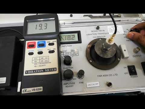 Vibration Meter Calibration