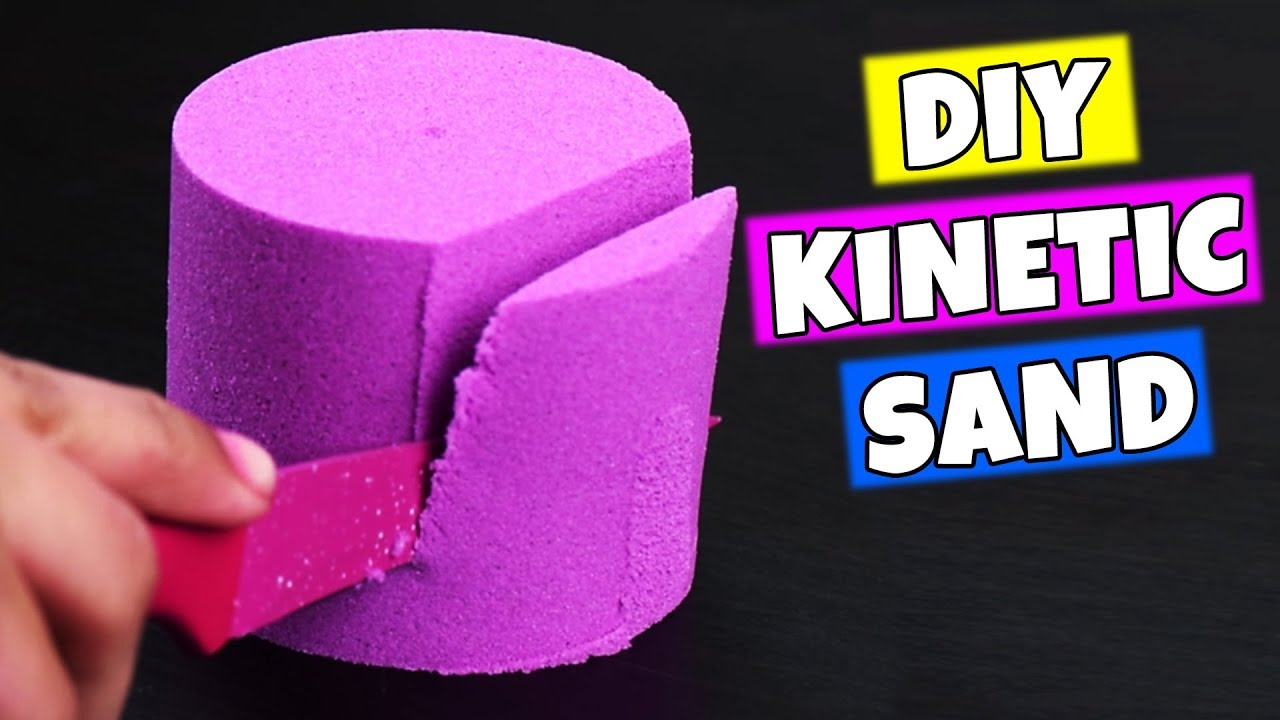 super cool diy videos satisfying stress relievers diy stress balls and kinetic sand by. Black Bedroom Furniture Sets. Home Design Ideas