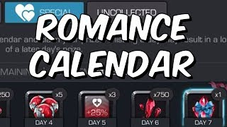 Romance Calendar 2018 - Valentine's Day Rewards - Marvel Contest Of Champions