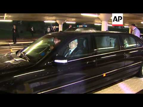 Leaders arrive for the fifth BRICS summit