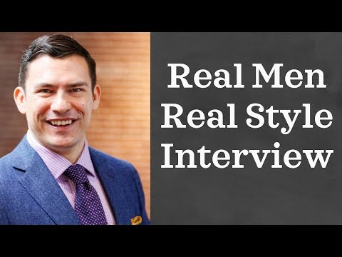 Real Men Real Style Interview | Building Your Wardrobe, Growing A Company & More
