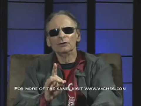 What occurred in Andrew Vachss' life to make him want to fight predators