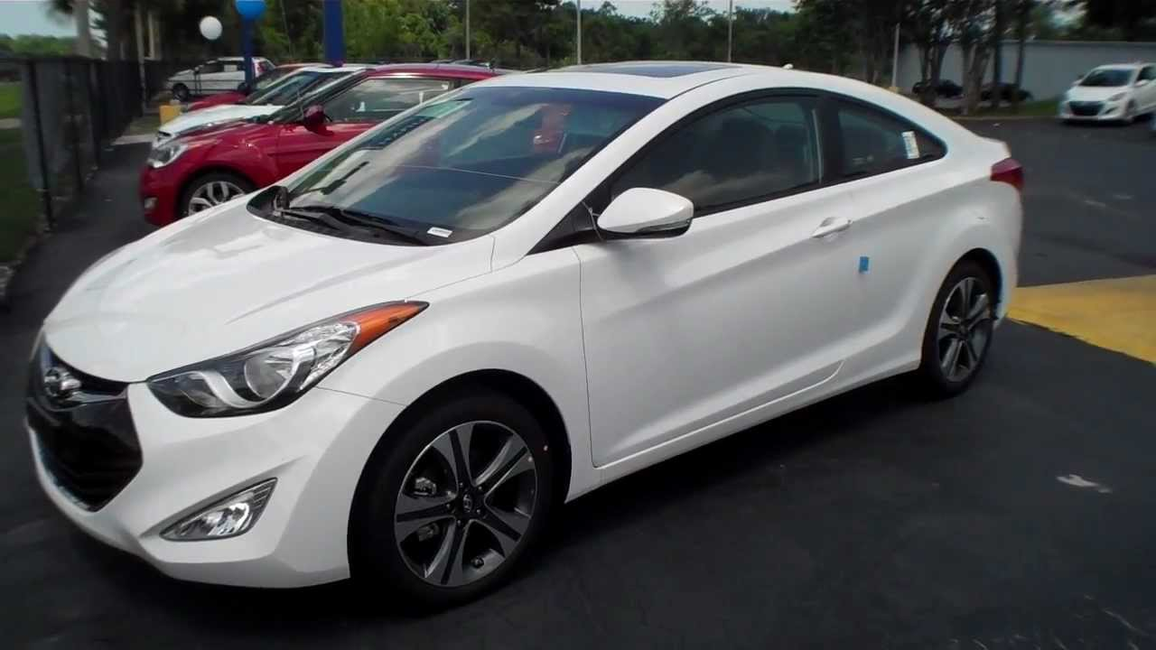 2013 Hyundai Elantra Coupe Se Interior Tour Manual 6 Speed