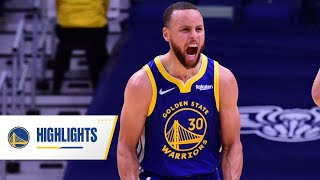 "Stephen Curry Drops 41 Points in ""The Big Easy"" 
