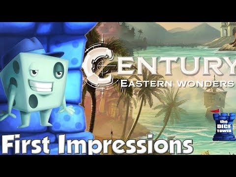 Century: Eastern Wonders First Impressions - with Tom Vasel