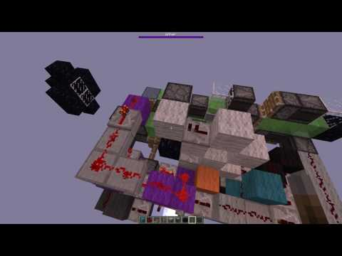 Minecraft 1.11+ - AFK Tunnel Bore v2 (Fully Automatic Mining