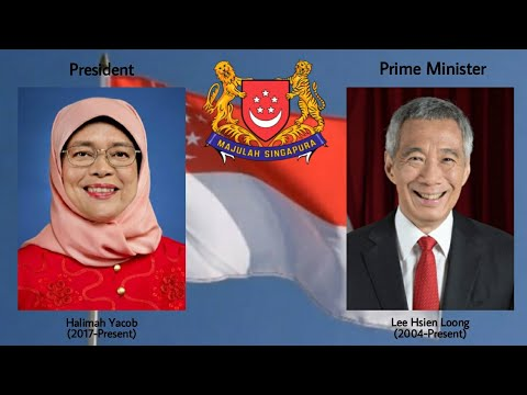 Majulah Singapura : President's and Prime Minister's of The